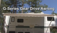 G-Series Gear Drive Awnings by Dometic